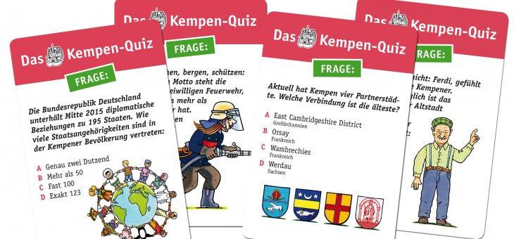 """Projekt-Beispiel: Herausgeber verpflichtet Detlef Herchenbach für die Realisierung von """"Das Kempen-Quiz"""""""